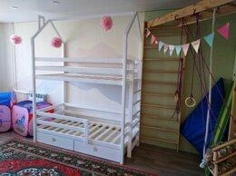 Кроватки - Двухъярусная детская кровать N3, 0