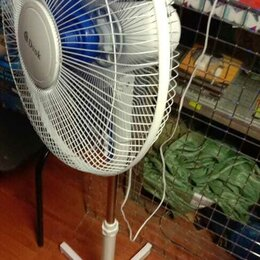 Вентиляторы - Вентилятор напольный 5 лопастей, 0