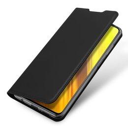 Чехлы - Чехол книжка для Xiaomi Mi Poco X3 NFC, черный, 0