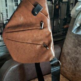 Сумки - Мужская кожаная сумка, 0