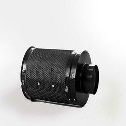 Фильтры для вытяжек - Фильтр Угольный Т-160 в Гроубокс, 0