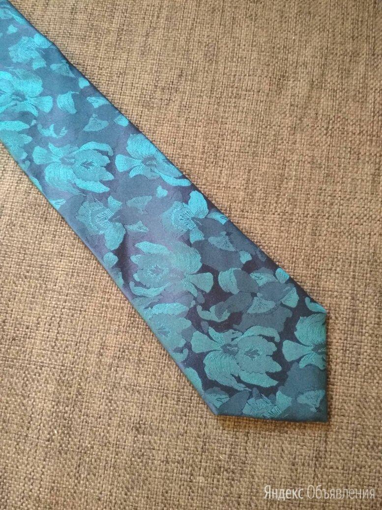 Галстук шёлк Marks and Spencer цветочный принт по цене 400₽ - Галстуки и бабочки, фото 0
