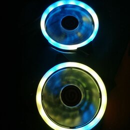 Кулеры и системы охлаждения - Вентилятор с подсветкой, 0