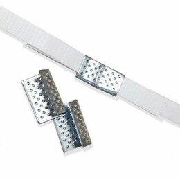 Упаковочные материалы - Скрепа (скоба, замки) для полипропиленовой ленты, 0