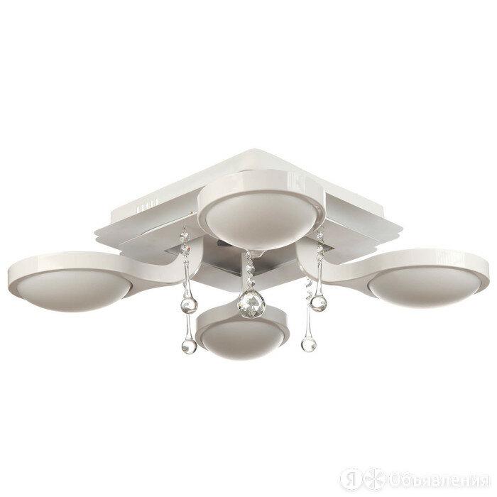 Люстра Kuwait 4x32Вт LED 4000K белый 55x55x17см по цене 9524₽ - Люстры и потолочные светильники, фото 0