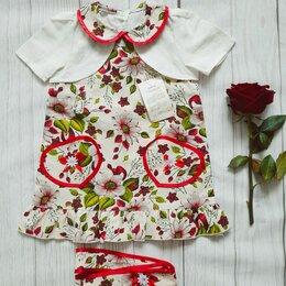 Платья и юбки - Платье из льна 86 новое, 0