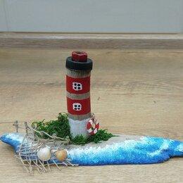 Статуэтки и фигурки - Дрифтвуд арт морские домики, 0