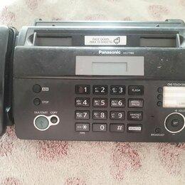 Факсы - Факс Panasonic KX-FT982ru, 0