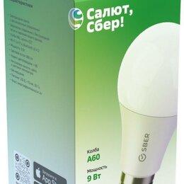 Лампочки - Умная многоцветная лампа Sber, Алиса A60 (цоколь Е27, 9Вт ), 0