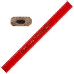 Измерительные инструменты и приборы - Park Карандаш строительный 17,5 см, 1 шт, 6887, 0