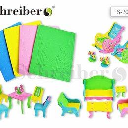 Развивающие игрушки - Пазл  мягкий 3D Schreiber Мебель, 21*15см, 5диз., 0