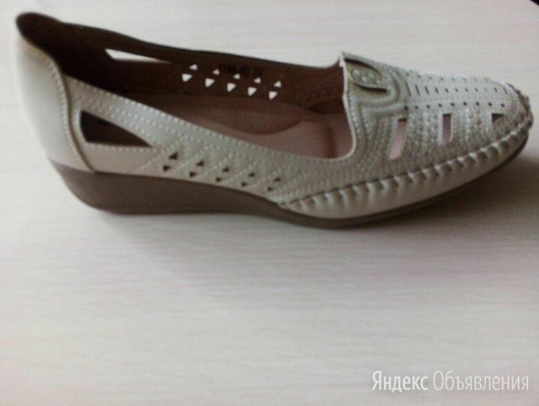 Sandalini мокасины, натуральная кожа, новые. по цене 1200₽ - Мокасины, фото 0