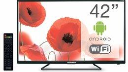 Телевизоры - Телевизор Telefunken TF-LED42S39T2S SMART WI-FI, 0