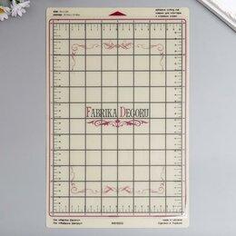 Комплектующие для плоттеров - Сменный коврик для плоттера 'Fabrika Decoru' 20,3х30,5 см, бежевый, 0