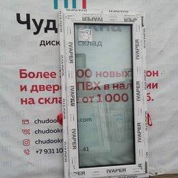 Окна - Окно, ПВХ Ivaper 70мм, 1390(В)х710(Ш) мм, 0