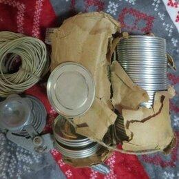 Консервные ножи и закаточные машинки - Крышки для консервирования СССР с машинкой, 0