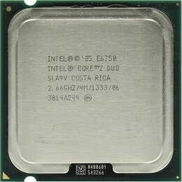 Процессоры (CPU) - Процессор Intel E6750, 0