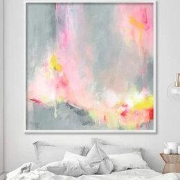 Рисование - Акварель абстракция для спальни, 0