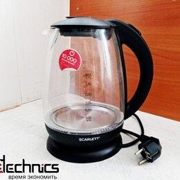 Электрочайники и термопоты - Чайник электрический Scarlett SC-EK27G15 (OEM), 0