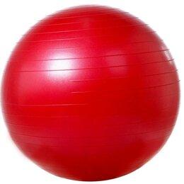 Аксессуары - VEGA501/55 :: Гимнастический мяч гладкий :: Красный :: 550 мм :: насос VEGA 003, 0
