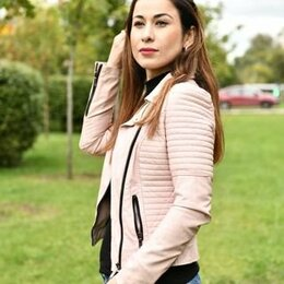 Куртки - Куртка кожаная женская, 0