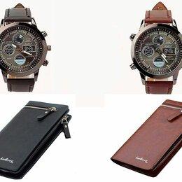 Клатчи - Портмоне Baellerry Classic Italia + Часы АМСТ 5792, 0