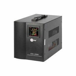 Прочее сетевое оборудование - Стабилизатор ЭРА STA- 2000, 0