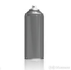 Краска аэрозольная серый графит (7024) по цене 400₽ - Краски, фото 0