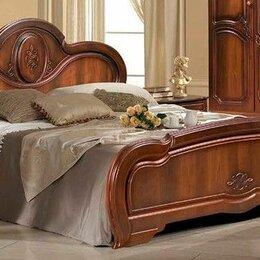 """Кровати - Кровать двуспальная Щара-160 """"орех"""", 0"""