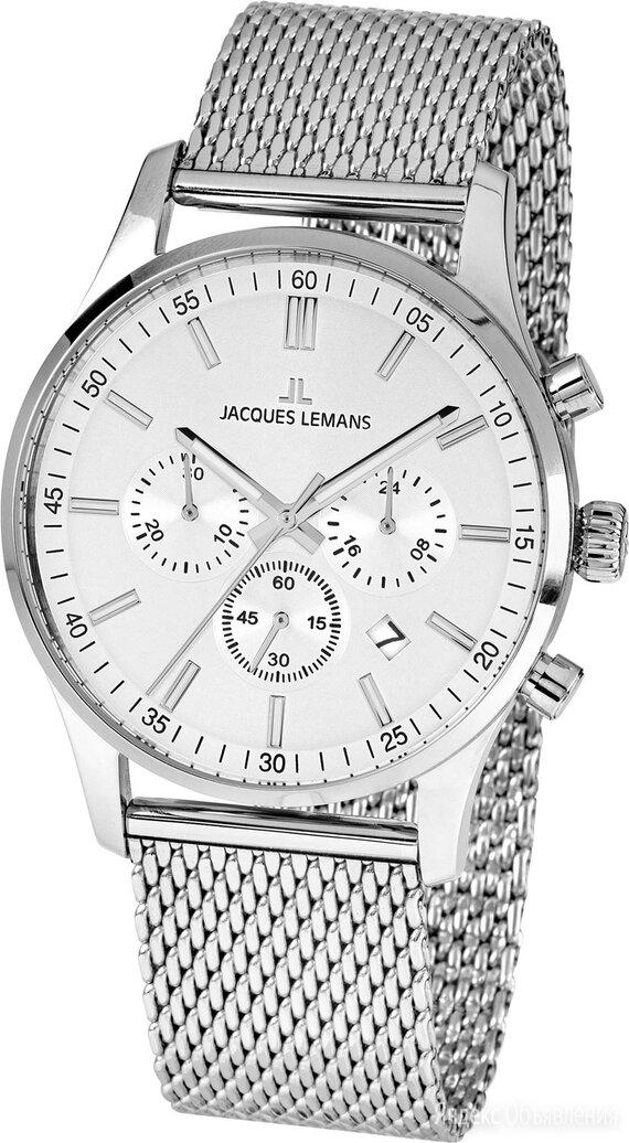 Наручные часы Jacques Lemans 1-2025G по цене 16490₽ - Наручные часы, фото 0