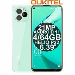 Мобильные телефоны - НОВИНКА Смартфоны Oukitel C21 Pro Green Android 11 4/64GB, 0