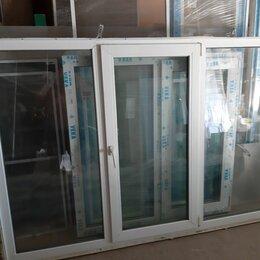 Готовые конструкции - Пластиковые окна б/у 207 на 142, 0