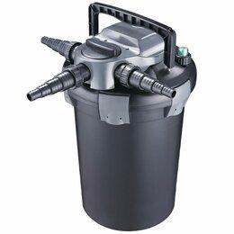 Насосы и комплекты для фонтанов - Напорный фильтр для пруда Jebao CBF-6000, 0