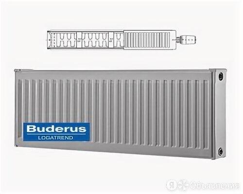 Стальной панельный радиатор Тип 22 Buderus Радиатор K-Profil 22/400/700 (27) (C) по цене 6090₽ - Радиаторы, фото 0
