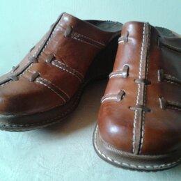 Сабо - Сабо ЖЕНСКИЕ кожаные размер 38, 0