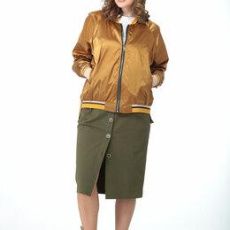 Одежда и обувь - Куртка М-7012 T&N золотая горчица Модель: М-7012, 0