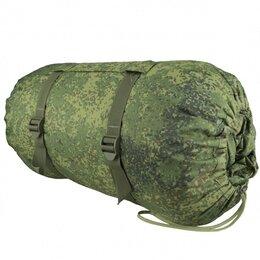 Спальные мешки - Спальный мешок синтепон 2-х слойный 220х90 см цифра РФ, 0