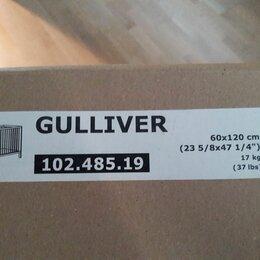 Кроватки - Кроватка детская Gulliver 60x120 sm c матрацем Vyssa vackert 60x120 sm, 0