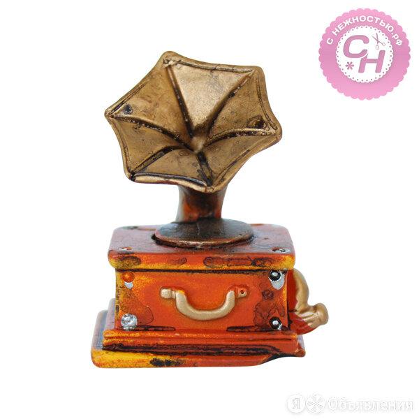 Музыкальные инструменты для кукол -  ПАТЕФОН, 4,5*3 см. по цене 160₽ - Другое, фото 0