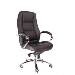 Компьютерные и письменные столы - Кресло Everprof Kron M Экокожа Черный, 0