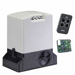 Шлагбаумы и автоматика для ворот - Комплект привода откатных ворот FAAC 740 KIT, 0