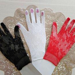Перчатки и варежки - Перчатки 3 цвета , 0