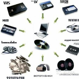 Фото и видеоуслуги - Оцифровка видеокассет , кинопленки 8 и 16 мм.  фотопленки, 0