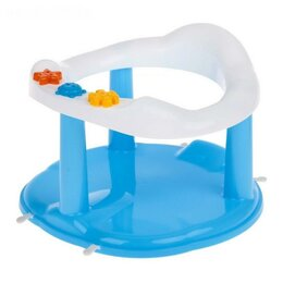 Походная мебель - Стульчик для купания на присосках, цвет голубой, 0