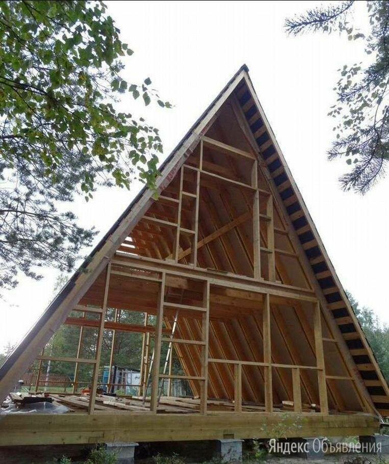 А-образный дом. a-frame. дом шалаш. по цене 29000₽ - Готовые строения, фото 0