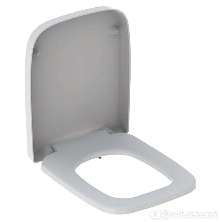 Сиденье для унитаза Geberit Renova Plan дюропласт, петли нерж. сталь 572110000 по цене 4734₽ - Комплектующие, фото 0