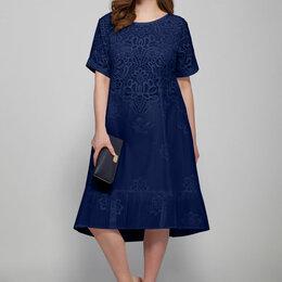 Платья - Платье 1407 MAGIA MODY синее Модель: 1407, 0