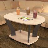 Столы и столики - Журнальный столик консул 3 тэксСтол журнальный Юпитер-3 (Венге/Дуб молочный), 0