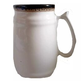 Бокалы и стаканы - Бокал Бочка Grains белая глазурь 0.7л 1/41 ПТУ-130, 0