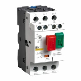 Защитная автоматика - Автоматический выключатель защиты двигателя IEK ПРК 32-10, 0